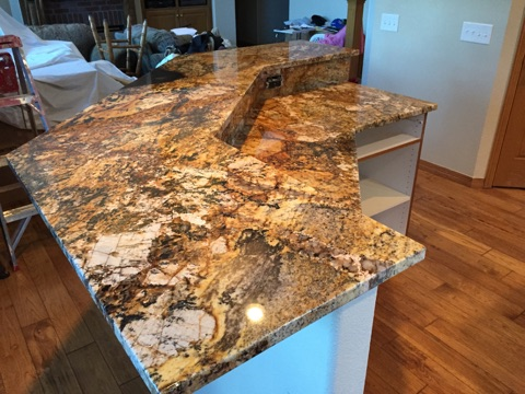 Granite offers a wide range of colors, textures and patterns.